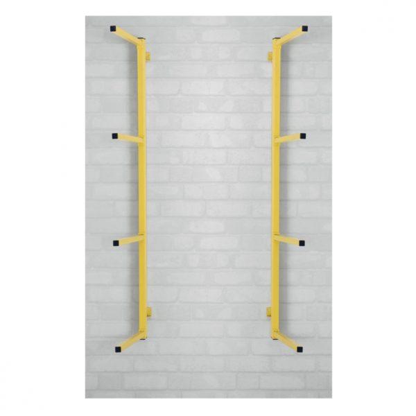 Støtfangerstativ for vegg