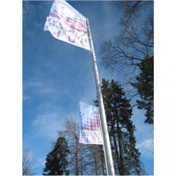 Flaggstang i aluminium 7,8 meter