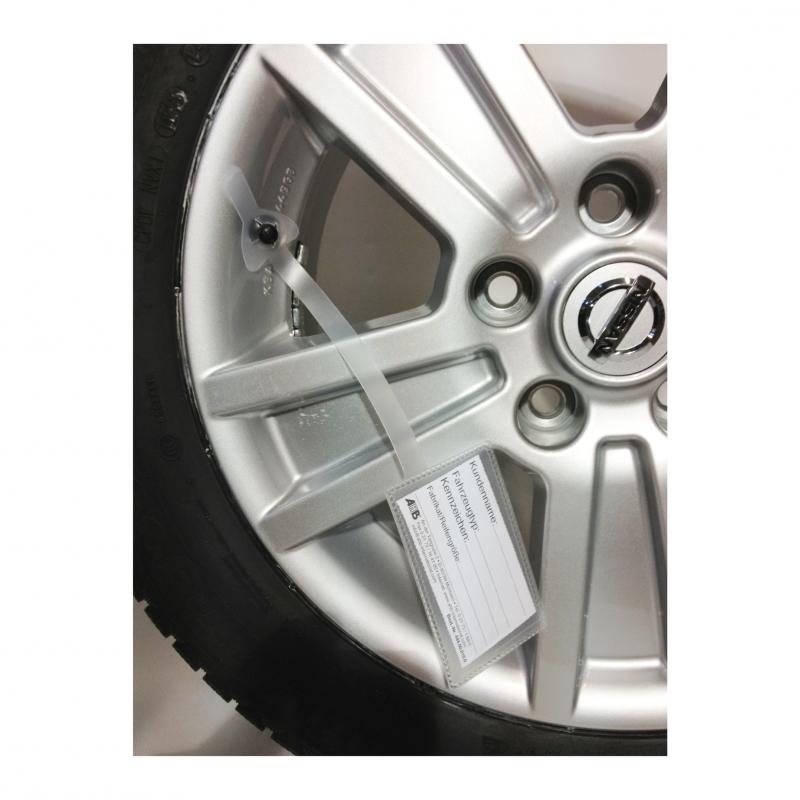 Merketag for hjul