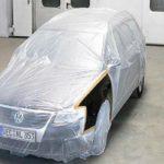 Maskeringsfolie HDPE til biler